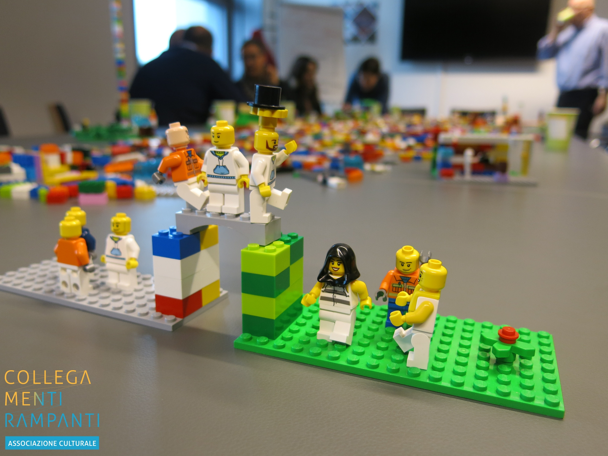 Laboratorio Mattoncini Lab – Lego Serious Play