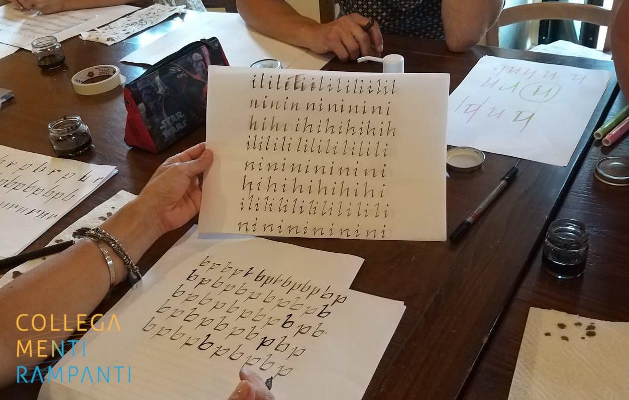 Laboratorio Di Calligrafia Di Concetta Ferrario